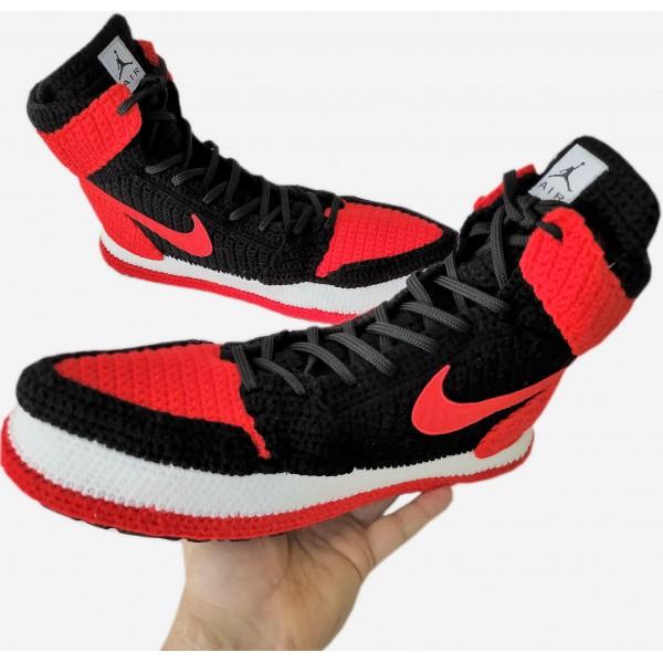Custom Jordan Sneakers Slippers